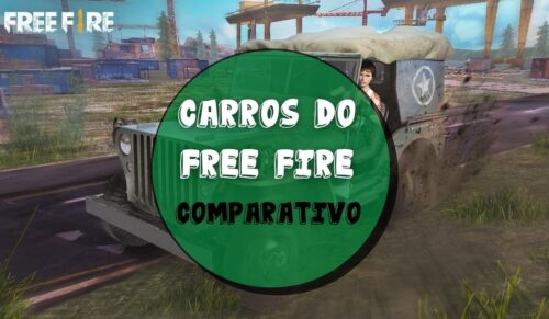 Carros do free fire