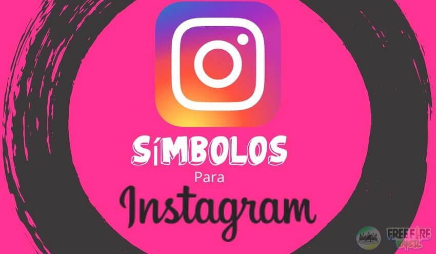 Símbolos Para Instagram