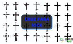 Símbolos de Cruz para nick ✟: Várias opções para escolher