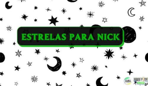 estrelas para nick