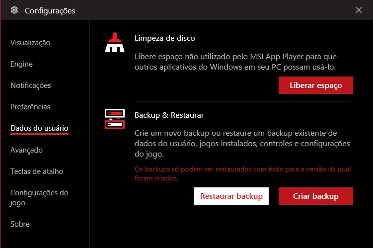 msi app player requisitos