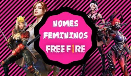 nomes femininos para free fire
