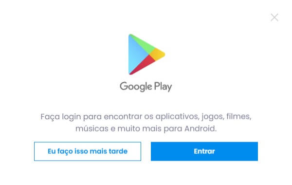 Configurar Google Play Store