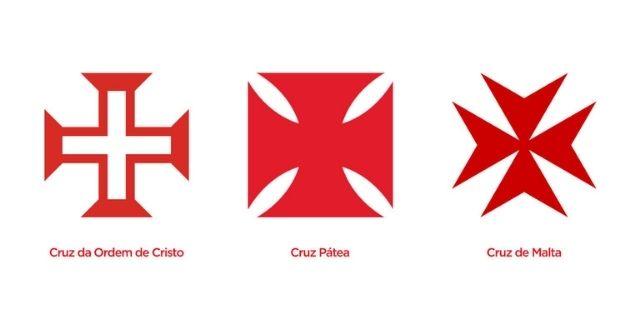 símbolo do vasco, explicação das cruzes.