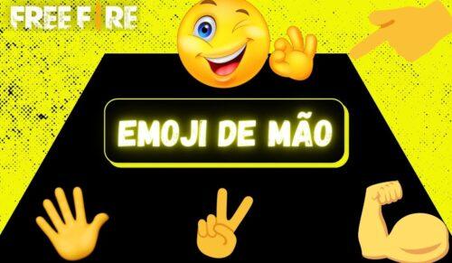 capa da postagem emoji de mão para nick