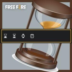 emoji de relógio para nick