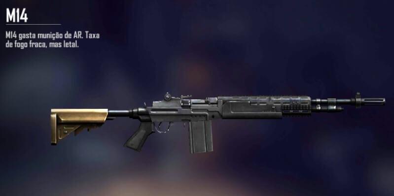 M14 Free Fire