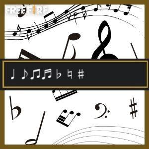 Símbolos ou Notas musicais para Nick