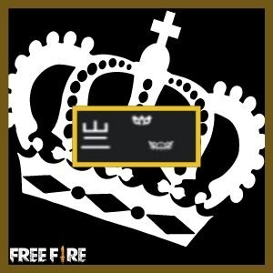 Símbolos ou emoji de coroa para nick