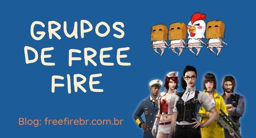 Grupos de Free Fire no WhatsApp e FaceBook