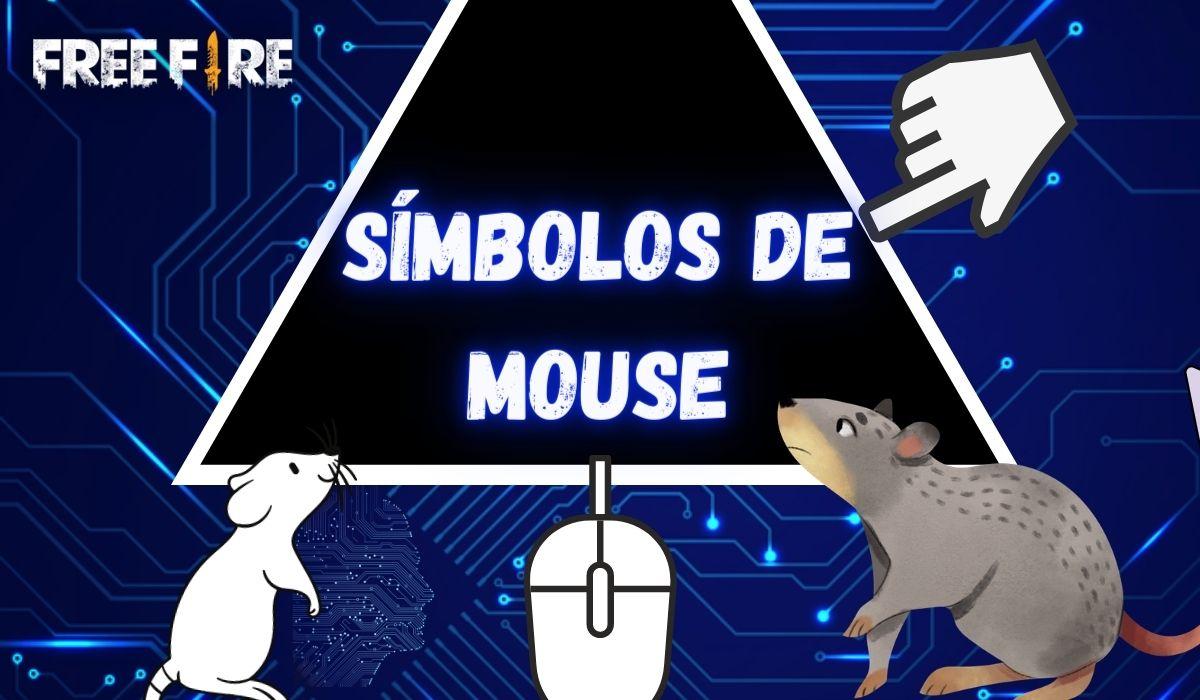 Símbolo de Mouse para Nick: Copie e Cole ტ