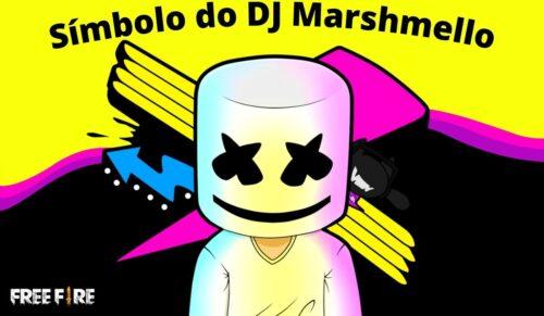 Símbolo do DJ Marshmello Para Nick