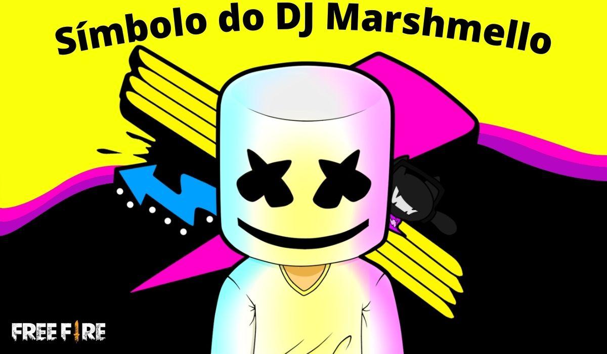 Símbolo do DJ Marshmello Para Nick: Copie e Cole ×͜×