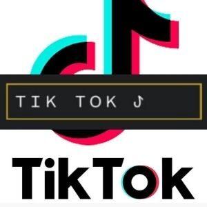 símbolo do tik tok