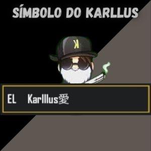 símbolo e id do karllus eduardo