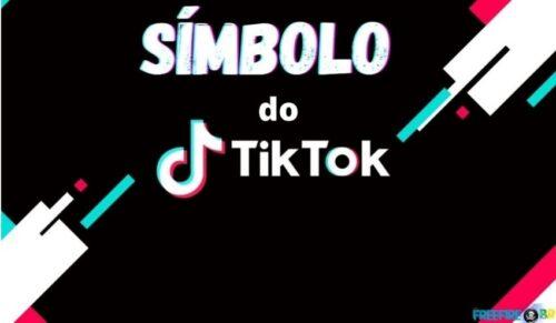símbolo do tik tok para nick