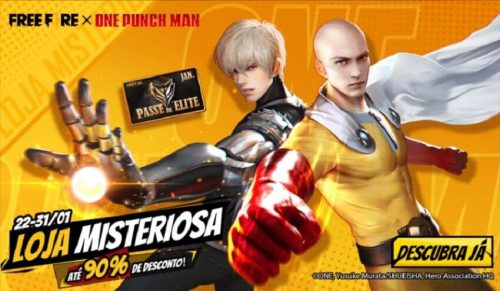 loja misteriosa one punch men free fire