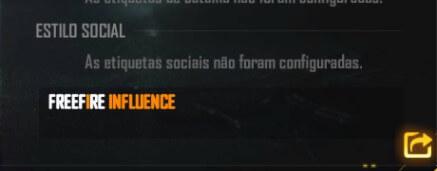 free fire influence no perfil do jogo