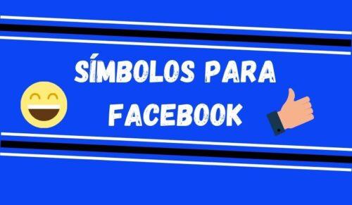 simbolos para facebook capa