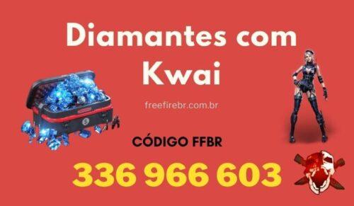 como recarregar diamantes com kwai no free fire