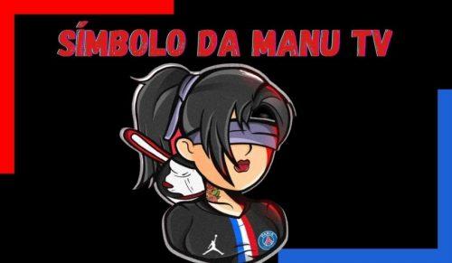 símbolo da Manu tv