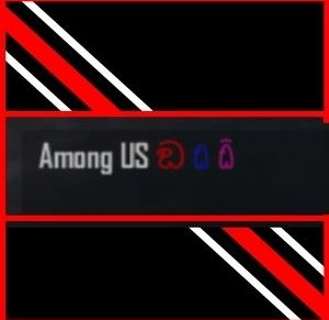 símbolo do among us para perfil