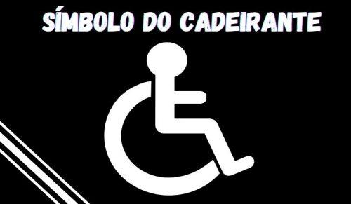 simbolo do cadeirante para free fire