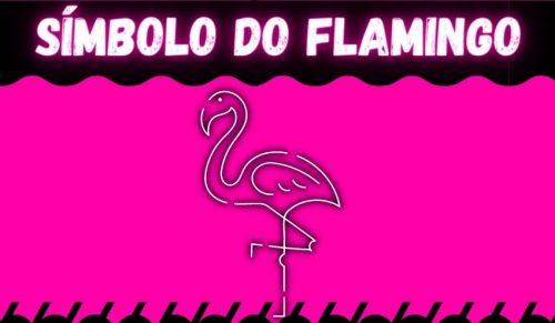 simbolo do flamingo para nick