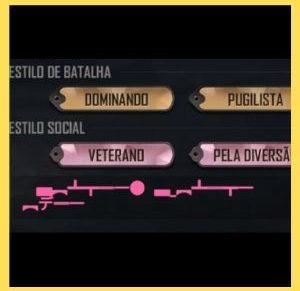 simbolos de armas para perfil