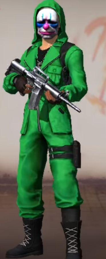 top criminal verde free fire
