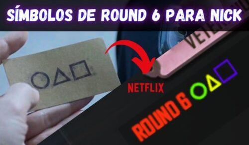 simbolos de round 6 para nick e bio do ff