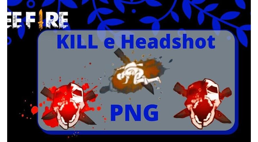 Caveira Headshot do Free Fire em PNG para Download